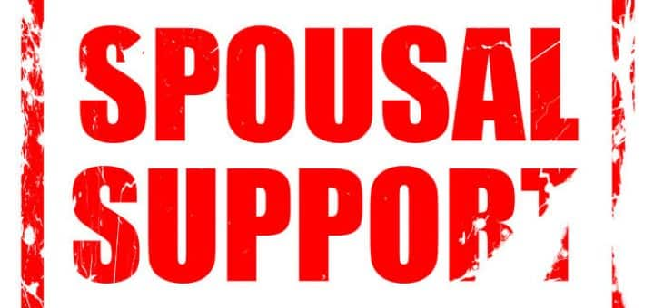 conditions of spousal support